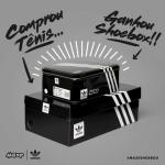 Na compra de uma tênis da Adidas ganhe uma shoebox Adidas