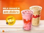 2 Milk Shakes por R$14