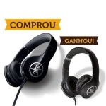 Compre 1 Headphone Yamaha HPH-PRO300 Preto e Ganhe Outro Igual - R$ 791,91