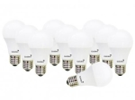 Kit com 10 Lâmpadas Ultra LED 5W 6500K Golden - A60 Leitosa