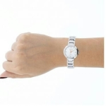Relógio Feminino Mondaine, Analógico, Pulseira de Metal, Caixa de 2,6 cm, Resistente à Água 3 ATM - 94753L0MGNM1