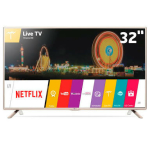 Smart TV LG LED HD 32 com WiDi, Painel IPS e Wi-Fi - 32LH570B por R$ 1274