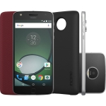 Smartphone Motorola Moto Z Play Power Edition, Dual Chip, Preto/Prata 32GB