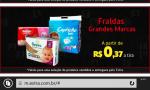 Promoção de fralda, várias marcas à partir de R$0,37 centavos a tira