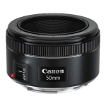 Lente Canon EF 50mm f/1.8 STM - R$ 416