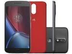 """Smartphone Motorola Moto G 4ª Geração Plus XT1640 32GB Branco 4G Tela 5,5"""" Câmera 16MP Android 6.0 R$998"""
