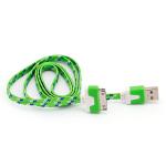 CABO USB FLAT 30 PINOS PARA IPHONE 4, IPAD, IPOD - R$1,75