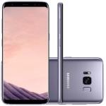 "Smartphone Samsung Galaxy S8 Ametista 5.8"" Câmera de 12MP 64GB Octa Core e 4GB de RAM"