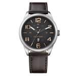 Relógio Tommy Hilfiger Masculino Couro Marrom - 1791157  -  por R$ 294