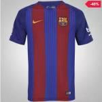 Camisa Barcelona I 16/17 Nike - Masculina G/GG ÚLTIMAS UNIDADES - R$ 128
