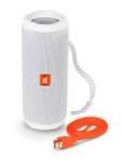Caixa de Som Speaker JBL Flip 4 Bluetooth 2x8W Branco Bivolt - R$ 499