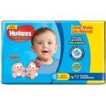 Fralda Huggies Tripla Proteção - R$49.90
