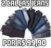 [Zattini] 2 Calças Jeans Masculinas - R$99,99