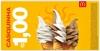 [Mc Donalds] A casquinha mais famosa do Brasil por R$ 1