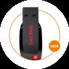 [Walmart / Méliuz] Pendrive SanDisk 16GB Cruzer Blade - Grátis