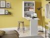 Armário com Mesa Dobrável de Parede - Multimóveis - R$149