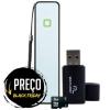 KIT: Carregador de bateria portátil 2600 mAh + Cabo Micro USB + Cartão De Memória de 8GB + Adaptador para Pen Drive - Multilaser