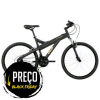 [ClubeDoRicardo] Bicicleta Caloi T-Type, Aro 26, 21 marchas, Quadro em alumínio, Suspensão Dianteira, Câmbio Shimano, Preta - R$ 679.90 em 10x s/j + FG
