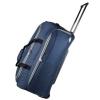 Sacola com Rodas Modena em Poliéster, Azul Marinho - Travelcross - R$46