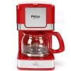 Cafeteira Elétrica Philco PH16 - Vermelho/Aço Escovado  - R$80