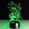 Lúminaria Goku Criança (7 cores) por R$55
