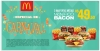 3 McOfertas McNífico Bacon R$50