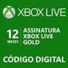 Xbox Live Gold de 12 meses - R$ 119,20