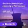 CABIFY - 25% de DESCONTO em PORTO ALEGRE